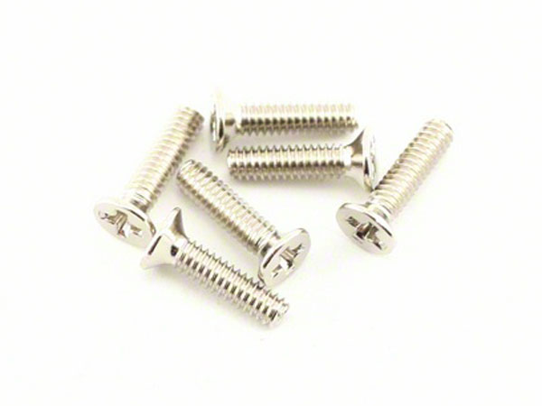 Traxxas Counter Sunk Machine Screws 2x8mm 3161