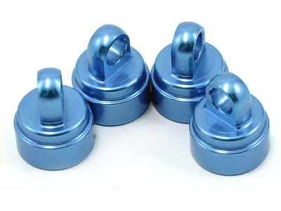 Traxxas Anodized Aluminum Ultra Shock Caps - Blue 3767A