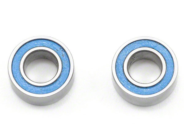 Traxxas Ball Bearings Blue Rubber Sealed 4x8x3mm (2) 7019