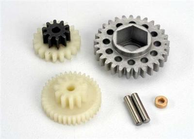 Traxxas Gear Set/Gear Shaft (EZ Start) 4576