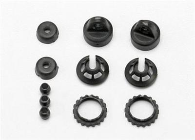Traxxas Caps & Spring Retainers GTR Shocks - 1/16 Slash/Revo/Rally 7065