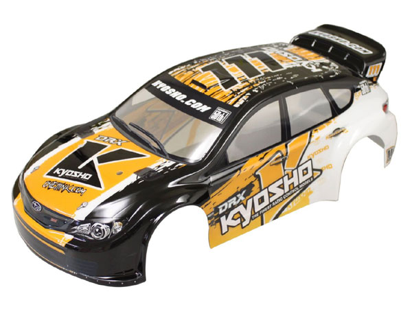 Image Of Kyosho Pre-Painted Subaru Impreza KX 1 Body Shell (DRX)