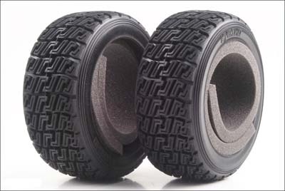Kyosho High Grip Rally Tyre - DRX TRT122