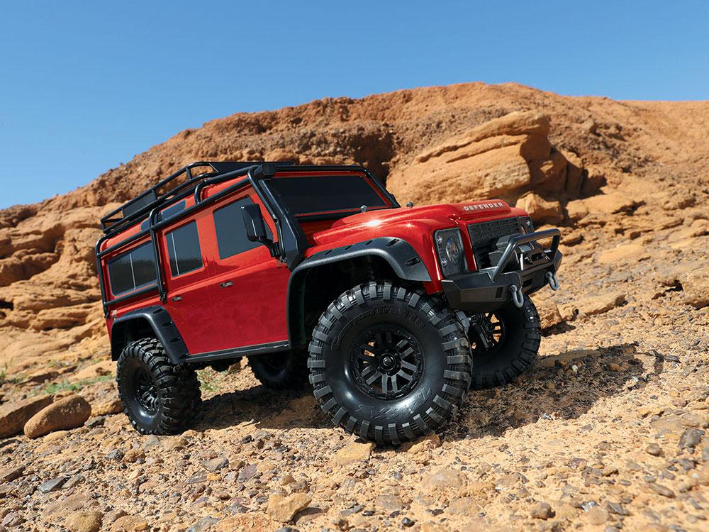 traxxas trx 4 land rover defender 110 grey 82056 4gr. Black Bedroom Furniture Sets. Home Design Ideas