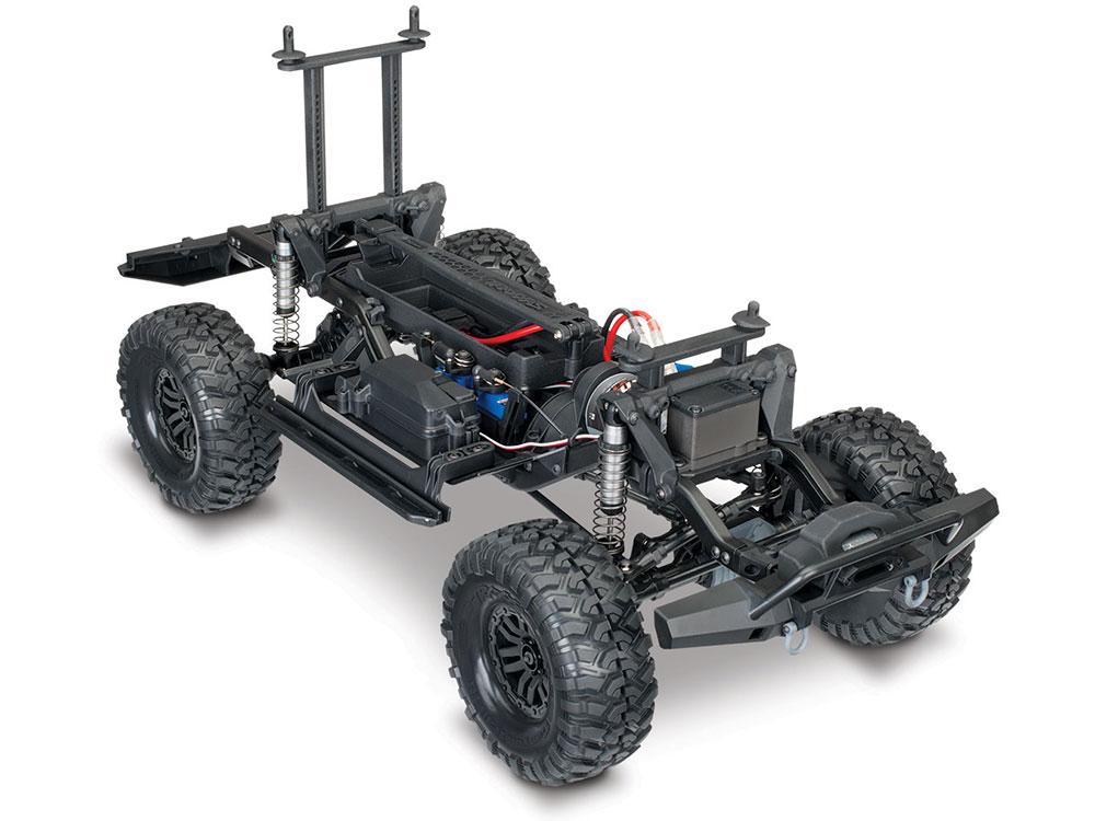 Traxxas TRX-4 Bronco Blazer Crawler Chassis Frame Skid Plates Tower Receiver Box