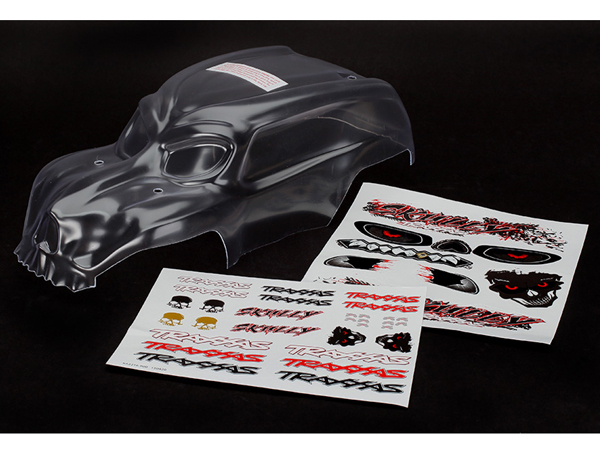 Traxxas Skully Clear Bodyshell 3633