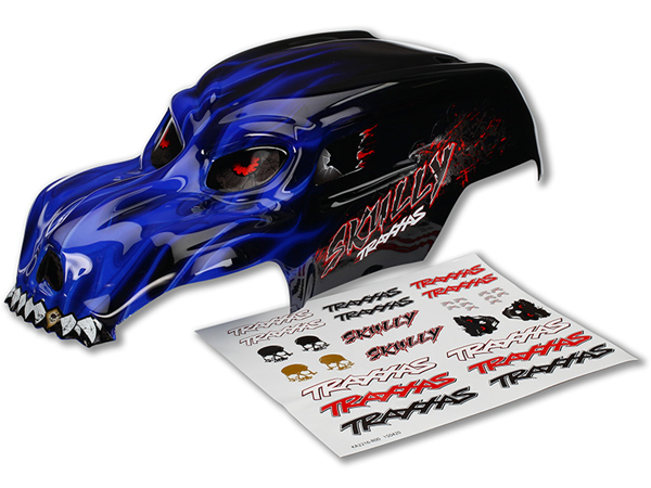 Traxxas Skully Painted Bodyshell (Blue) 3633X