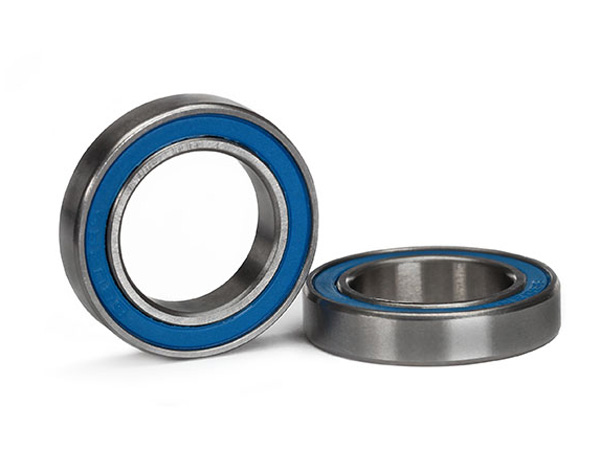 Traxxas Ball Bearing Blue Rubber Sealed 15x24x5mm (2) 5106