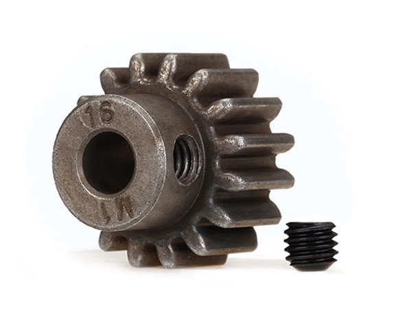 Traxxas 16t Pinion Gear Mod 1 - 5mm Shaft 6489
