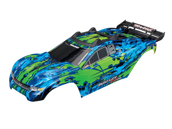 ../_images/products/small/Traxxas Rustler 4x4 VXL Complete Bodyshell - Green