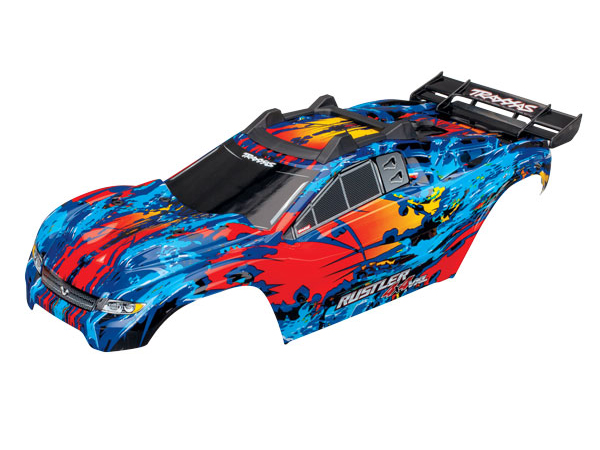 ../_images/products/small/Traxxas Rustler 4x4 VXL Complete Bodyshell - Red