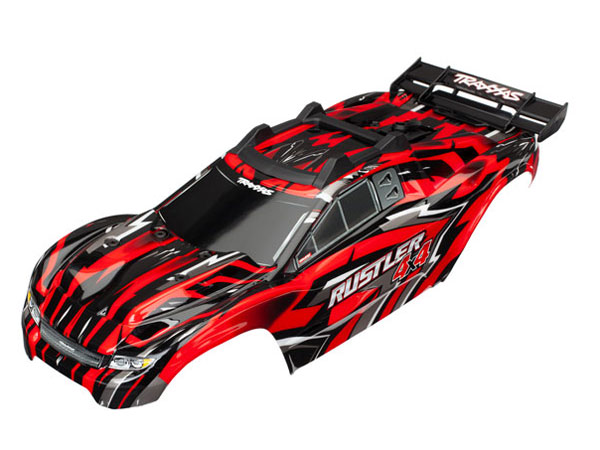 ../_images/products/small/Traxxas Rustler 4x4 XL-5 Pre-Pained Bodyshell - Red