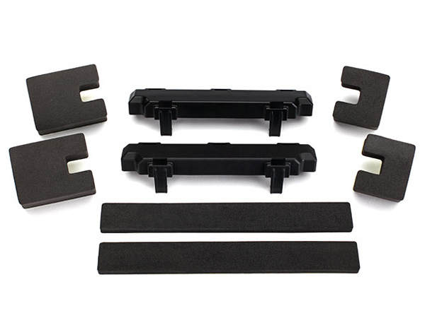 Traxxas Battery Spacer Compartment (2) Foam Blocks (4) and Foam Pads (2) 7717