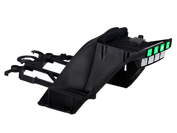 Traxxas Aton Upper Main Frame - Black 7925