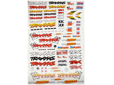 Traxxas Team Racing Decal Set 9950