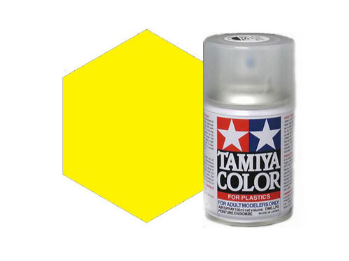 Image Of Tamiya TS-16 Yellow Acrylic Spray