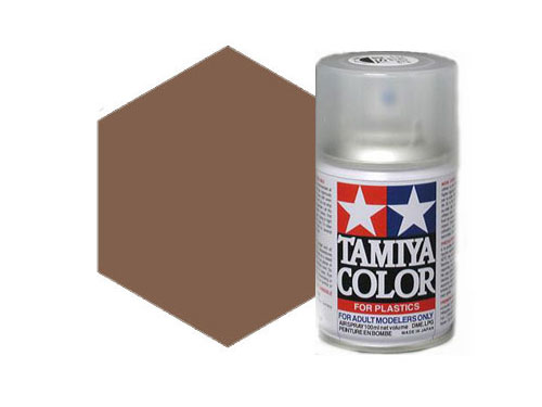Tamiya TS-1 Red Brown Acrylic Spray 85001