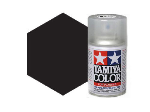 Image Of Tamiya TS-29 Semi Gloss Black Acrylic Spray