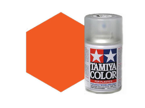 Tamiya TS-31 Bright Orange Acrylic Spray 85031