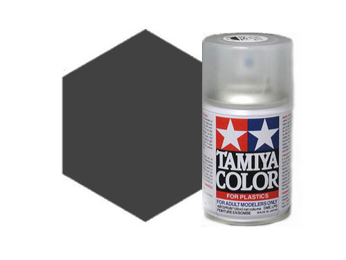 Tamiya TS-40 Metallic Black Acrylic Spray 85040