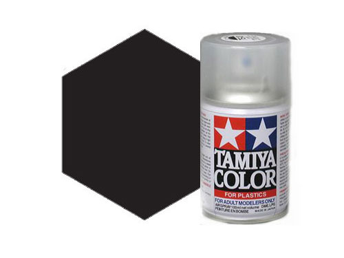 Image Of Tamiya TS-6 Matt Black Acrylic Spray