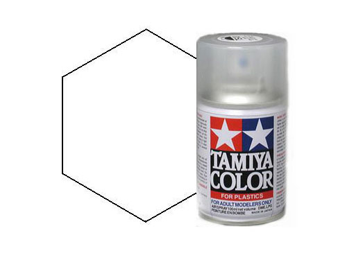 Tamiya TS-7 Racing White Acrylic Spray 85007