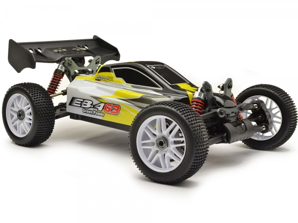 Image Of Thunder Tiger EB4 G3 1:8 Brushless Buggy - Yellow/White