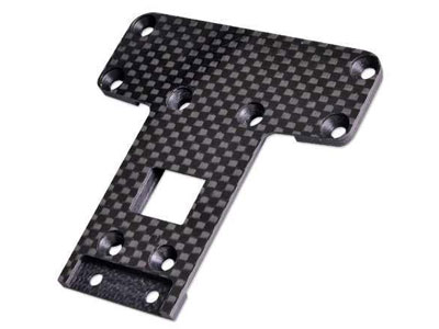 Team C Carbon Chassis Plate Rear 2WD TU0239