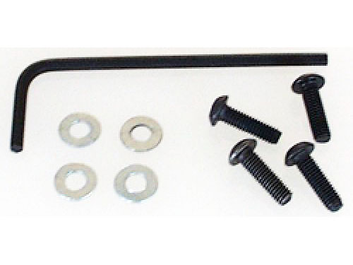 Image Of Schumacher M3x10mm Button Screws+Washers(pk4)