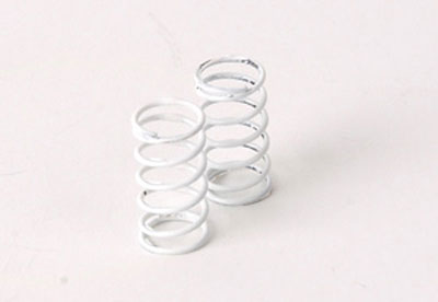 Schumacher Suspension Spring 5lb/in White (pr) - SupaStox U3965