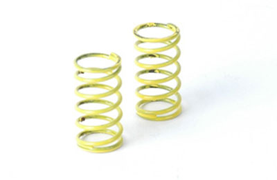 Schumacher Suspension Spring 7lb/in Yellow (pr) - SupaStox U3966