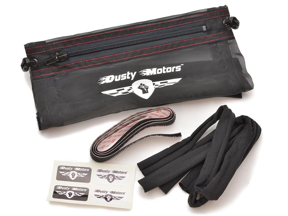 Dusty Motors Universal Adjustable Protection Dust Cover - Large UNI0051