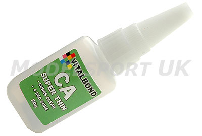Image Of Vitalbond Super Glue - Super Thin 50g Bottle
