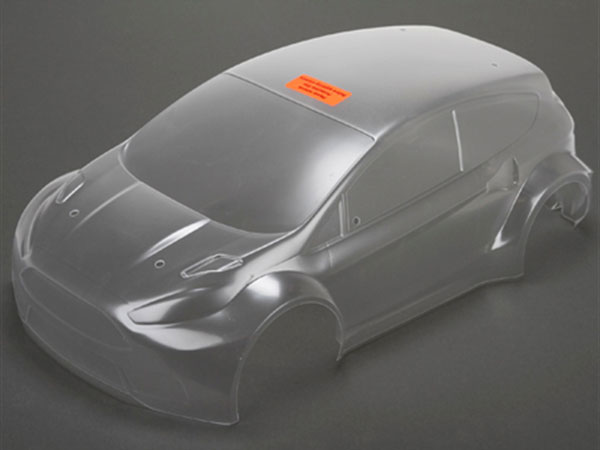 Image Of Vaterra 1/10 4WD Ford Fiesta Rallycross Clear Body Shell