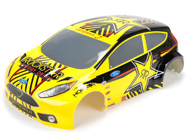 Image Of Vaterra 1/10 4WD Ford Fiesta Rallycross Decorated Body Set