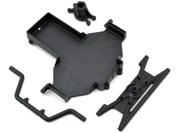 Vaterra Twin Hammers Battery Tray & Spare Tyre Mount VTR231004