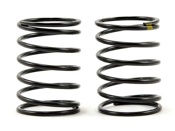 Vaterra Touring Car Shock Spring Soft Yellow (2) VTR233008