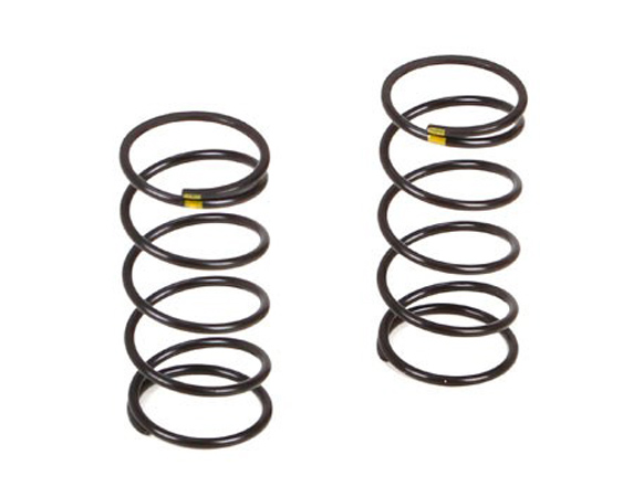 Vaterra Twin Hammers Front Shock Spring Medium Yellow (2) VTR233011