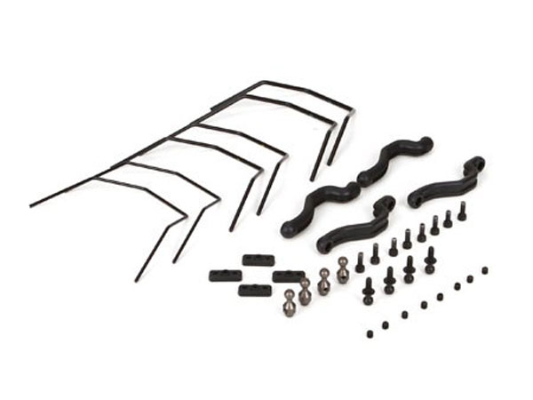 Vaterra 1/10 Halix Monster Truck RTR Anti Roll Bar Set VTR334015