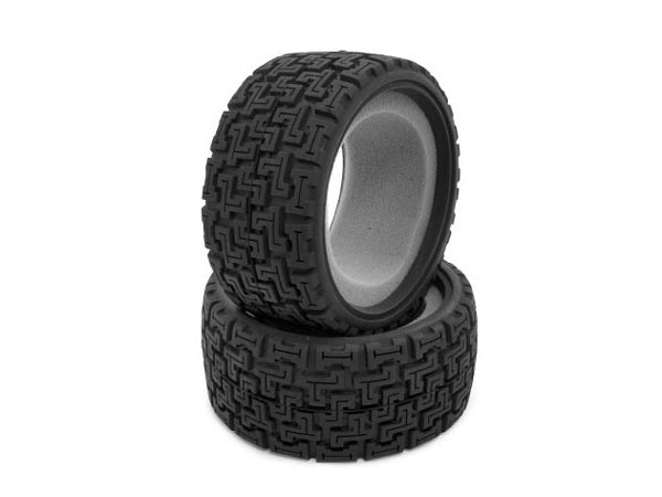 Image Of Vaterra 1/10 4WD Ford Fiesta Rallycross Tyre & Liners (2)