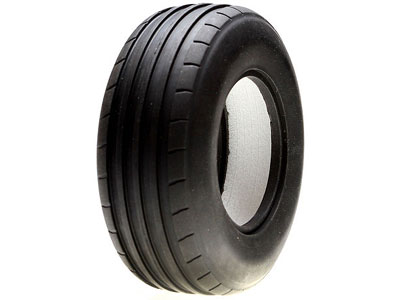 Vaterra Glamis 40mm Front Ribbed Tyre with Medium Foam Liners (2) VTR44002