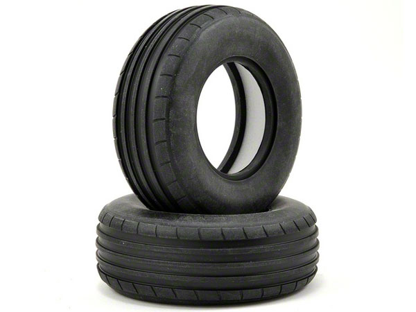 Vaterra Glamis Uno Soft Front 40mm Ribbed Tyre & Liners (2) VTR44005