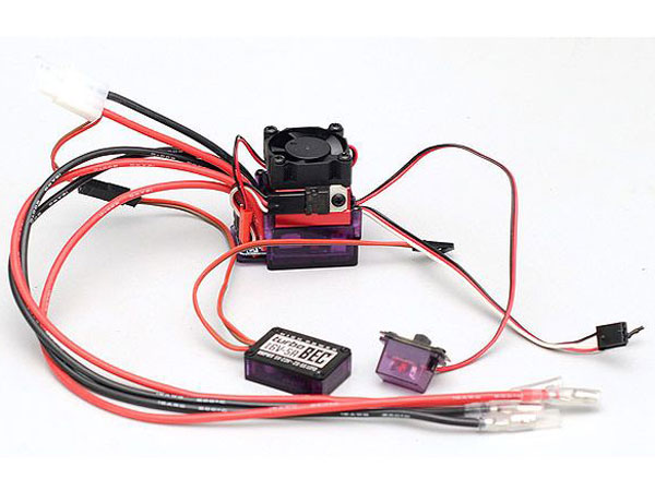 Image Of RC4WD ZE0008 Outcry Crawler Dual Motor ESC w. Fan TurboBEC