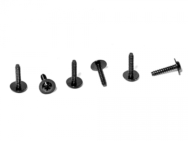 HPI Tp Flanged Screw M2.6x12mm (6pcs) Z488