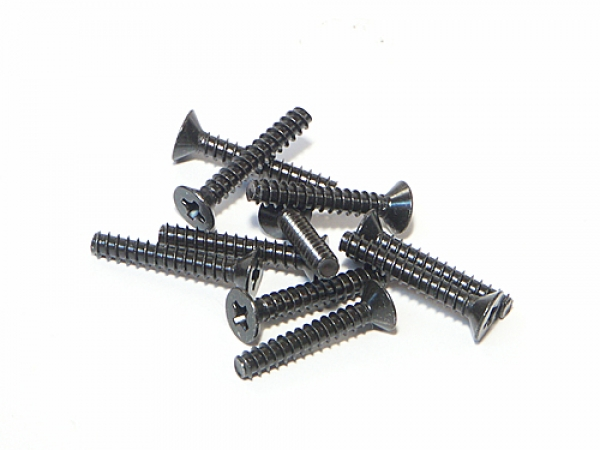 HPI Tp. Flat Head Screw M3x18mm (10pcs) Z581