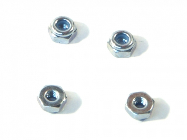 Image Of HPI Lock Nut M2 (4 Pcs)
