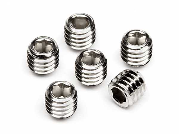 HPI Set Screw M3 X 3mm (6 Pcs) Z700