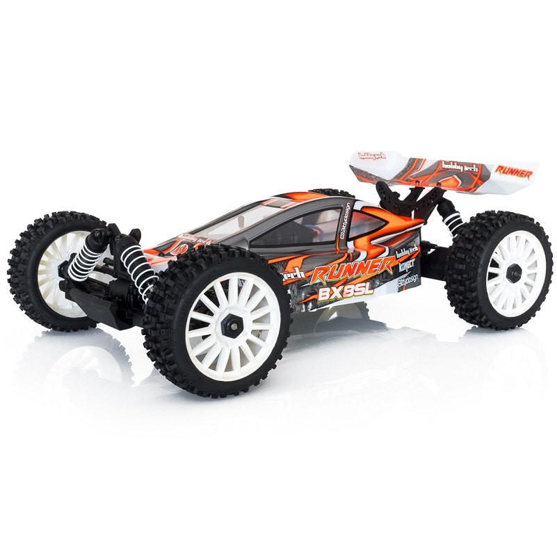 HobbyTech BX8-SL RUNNER 1/8th 4WD RTR Super Light Buggy (Orange) HT-1-SL-BX8-RUNNER-O