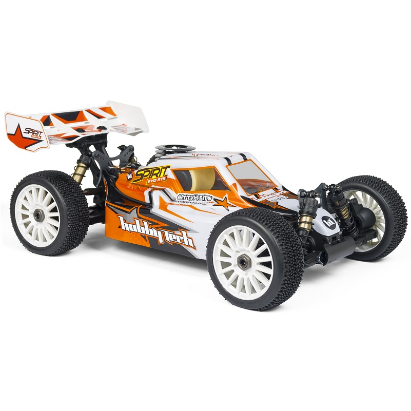 HobbyTech Spirit Evo 1/8th 4WD RTR Nitro Buggy Alpha Engine (Orange) HT-1-SPIRIT-EVO-RTR
