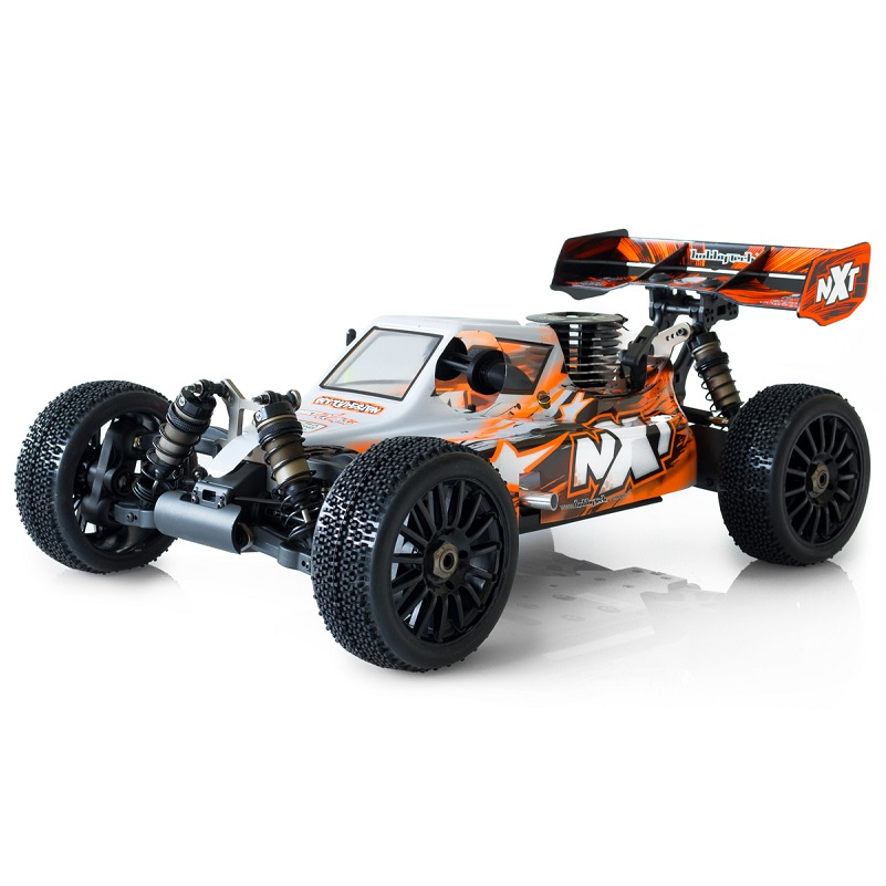 HobbyTech Spirit NXT GP1/8th 4WD RTR Competition Nitro Buggy (Orange) HT-1-SPIRIT-NXT-GP